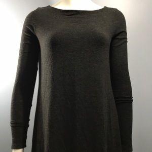 Eileen Fisher Long Top Size XS Black